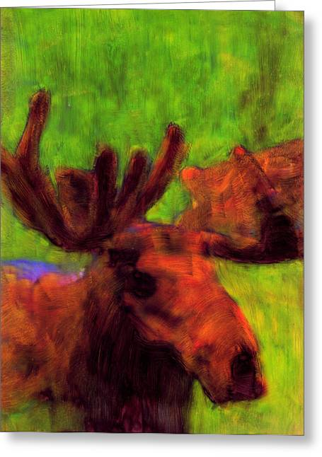 Moose Moments Greeting Card