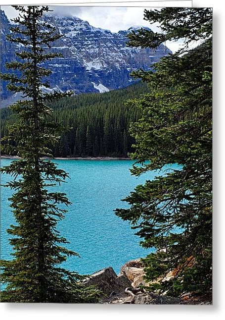 Moraine Lake 3 Greeting Card