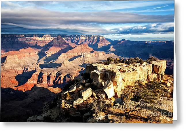 Greeting Card featuring the photograph Moran Point 2 by Scott Kemper