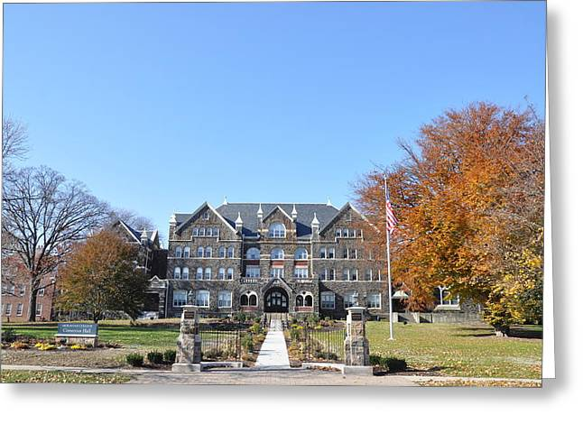 Moravian College Greeting Card by Bill Cannon