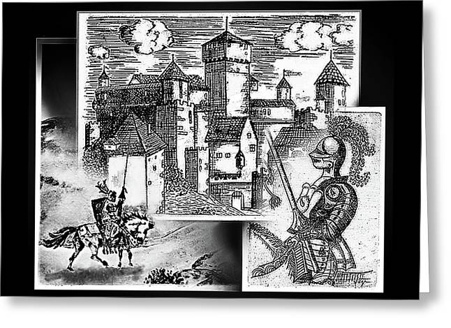 More Days Of Camelot Greeting Card