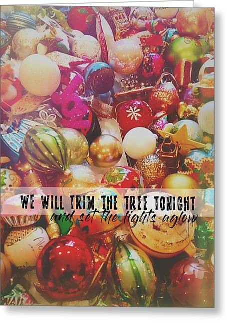 More Sparkle Quote Greeting Card by JAMART Photography