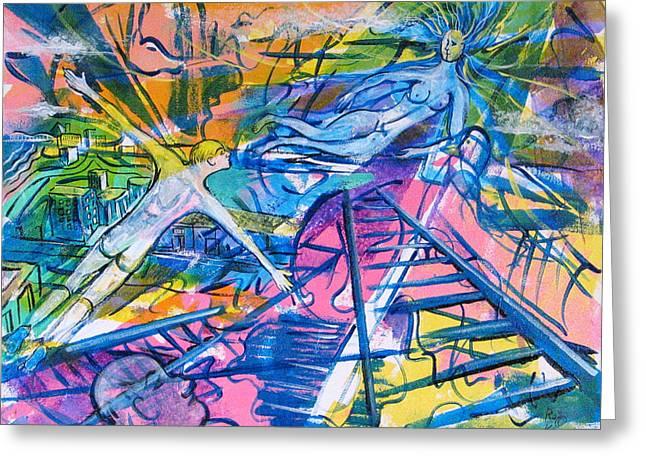 More Than A Dream Greeting Card by Rollin Kocsis