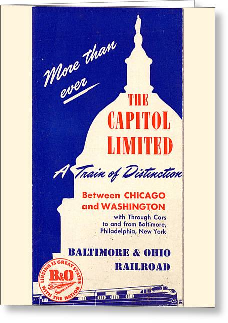 More Than Ever, The Capitol Limited Greeting Card