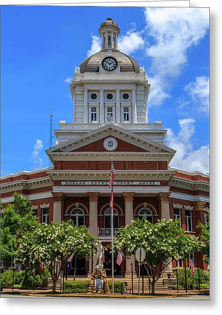 Morgan County Court House Greeting Card