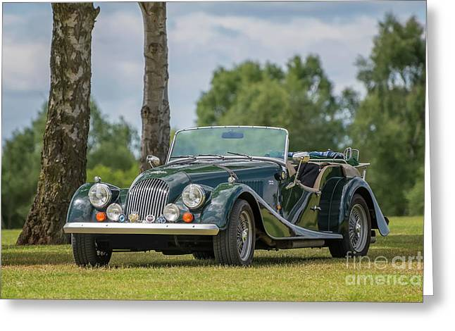 Greeting Card featuring the photograph Morgan Sports Car by Adrian Evans