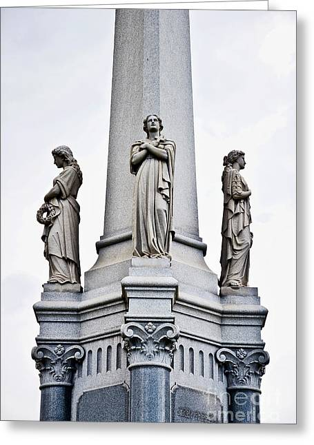 Moriarty Tomb Greeting Card by Kathleen K Parker