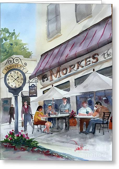 Morkes Spring Greeting Card