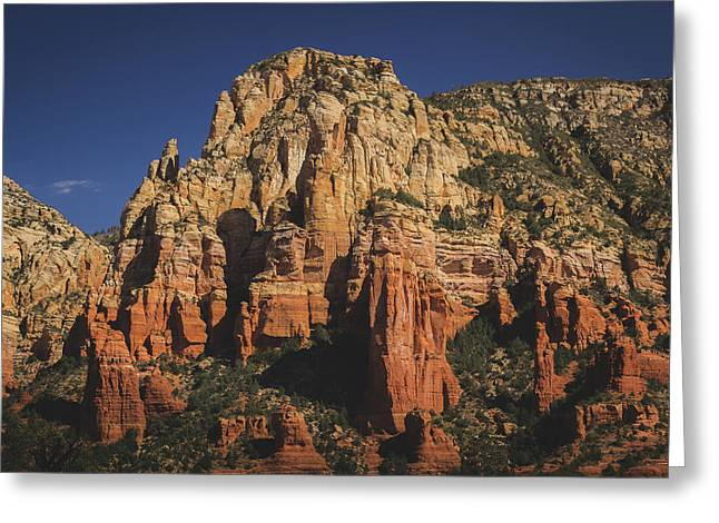 Mormon Canyon Details Greeting Card