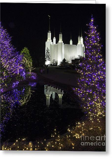 Mormon Temple 1 Greeting Card