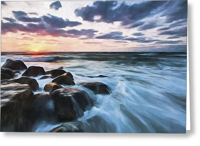 Morning All The Time II Greeting Card by Jon Glaser
