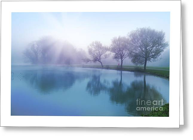 Greeting Card featuring the photograph Morning by Ariadna De Raadt