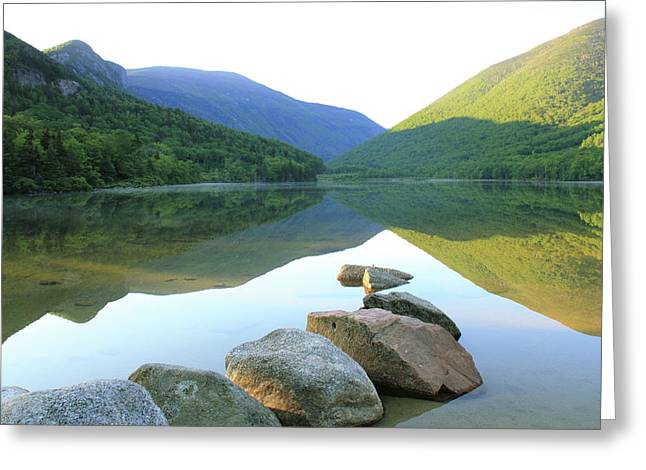 Morning At Echo Lake Greeting Card by Roupen  Baker