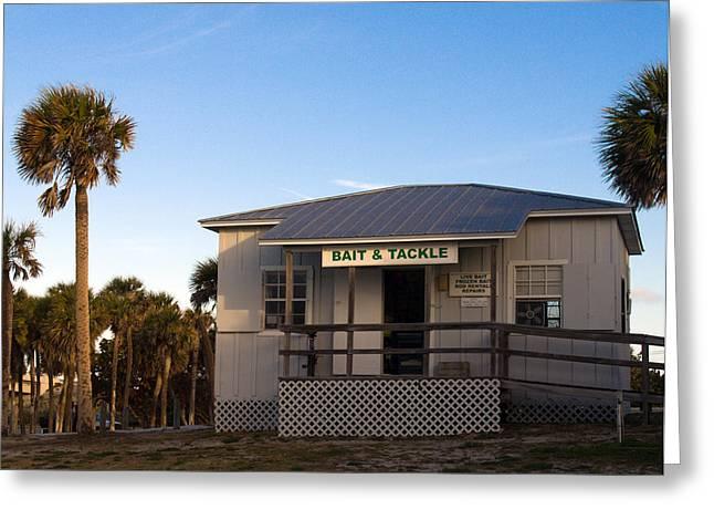 Morning At Sebastian Inlet In Florida Greeting Card by Allan  Hughes