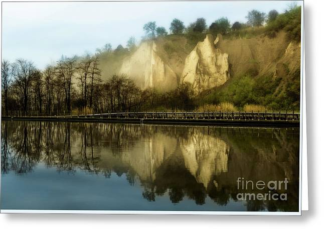 Morning At The Bluffs Greeting Card