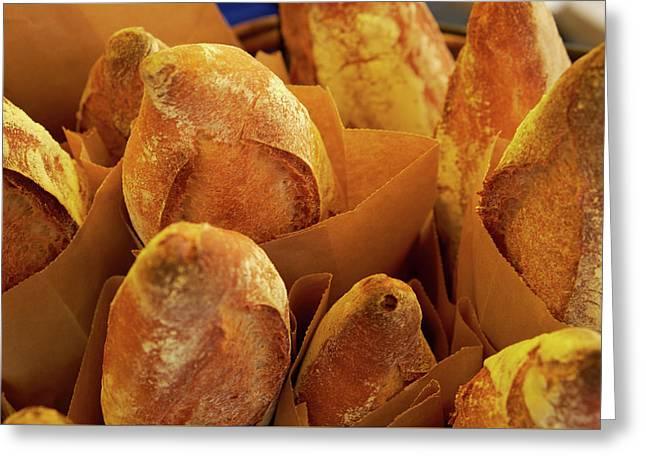Morning Bread Greeting Card