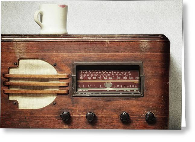 Morning Broadcast Greeting Card by Alison Sherrow I AgedPage