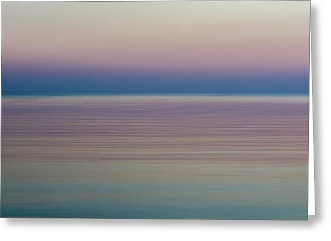Morning By The Sea Greeting Card by Stelios Kleanthous