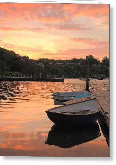 Morning Calm Greeting Card by Roupen  Baker