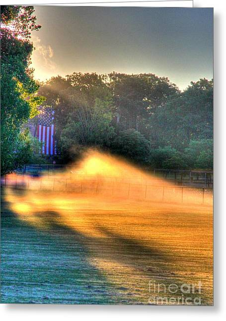 Morning Color-3 Greeting Card by Robert Pearson