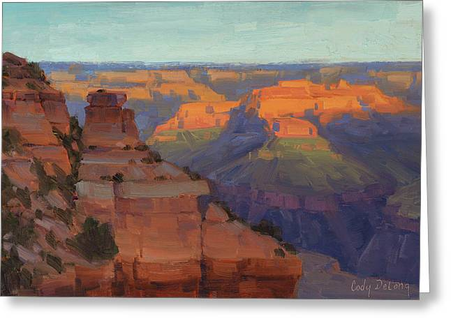 Morning Color - Yaki Point Greeting Card