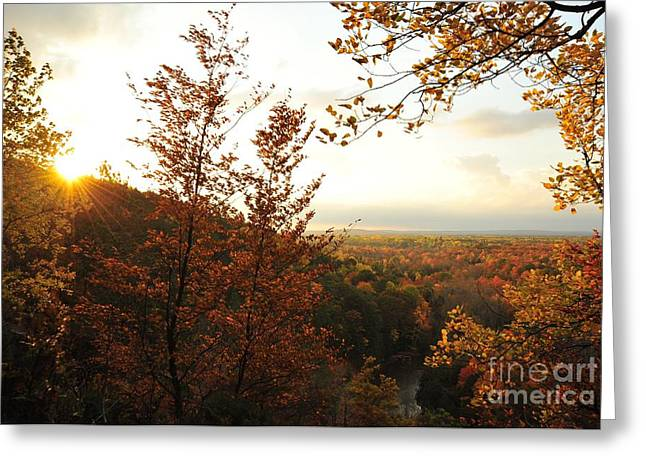 Morning Comes To The High Rollaways Greeting Card