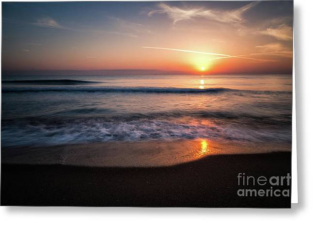 Morning Fire Greeting Card by Giuseppe Torre