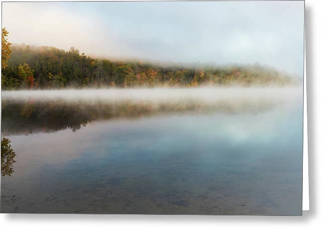 Morning Fog 2016 Greeting Card