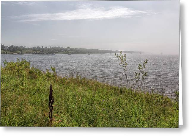 Greeting Card featuring the photograph Morning Fog by John M Bailey