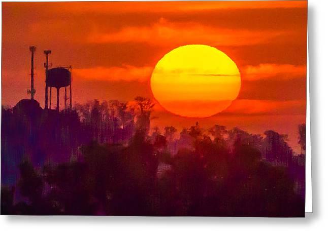 Morning Glory Greeting Card by Richard Marquardt