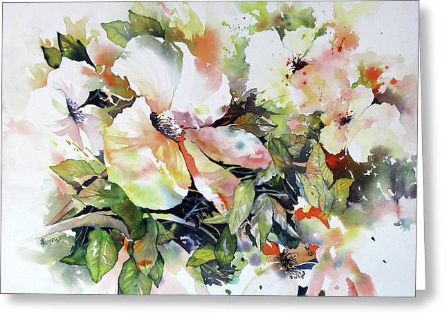Morning Glow 2 Greeting Card by Rae Andrews