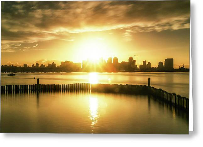 Morning Glow Greeting Card by Doug Barr