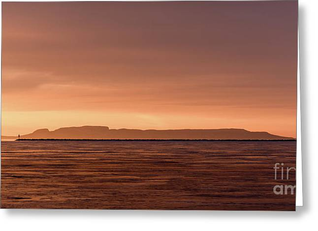 Morning Glow Greeting Card by James Brown
