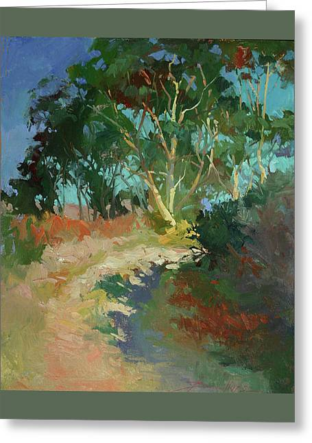 Morning Has Broken  -  Plein Air Catalina Island Greeting Card