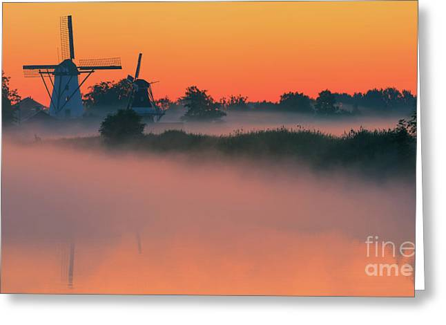 Morning Has Broken Greeting Card by Henk Meijer Photography