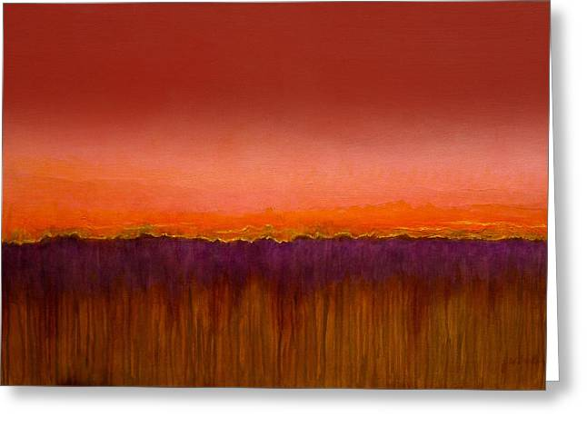 Morning Has Broken - Art By Jim Whalen Greeting Card
