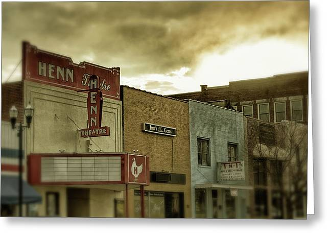 Greeting Card featuring the photograph Morning Henn by Greg Mimbs