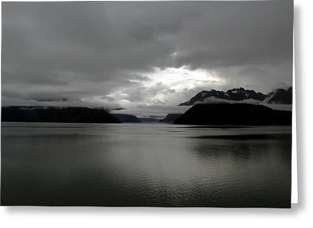 Morning In Alaska Greeting Card