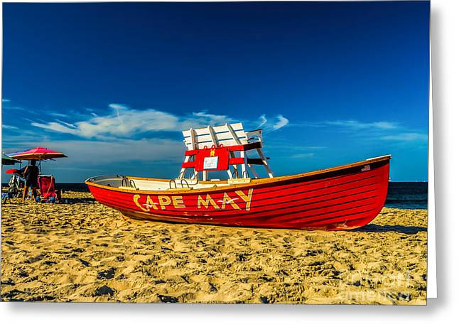 Morning In Cape May Greeting Card