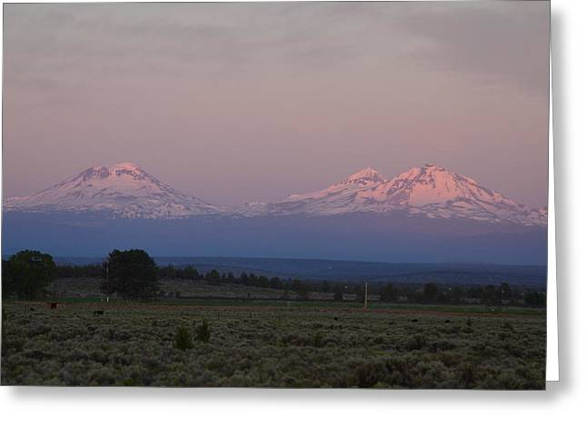 Morning In Central Oregon Greeting Card
