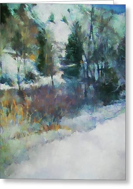Morning In Colorado Landscape Art By Jai Johnson Greeting Card by Jai Johnson