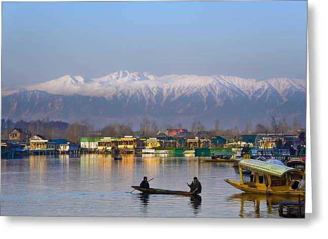 Morning In Kashmir Greeting Card