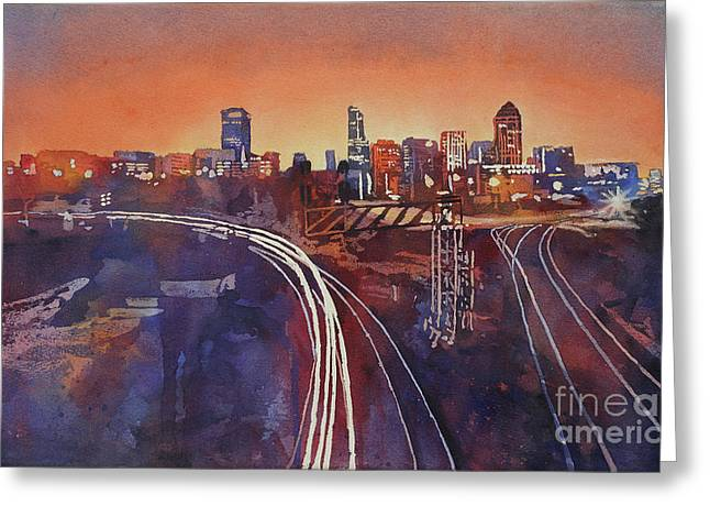 Morning In Raleigh Greeting Card
