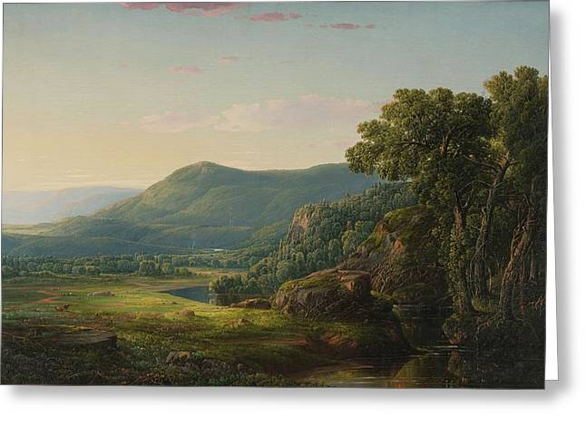Morning In The Alleghenies Greeting Card by William Louis