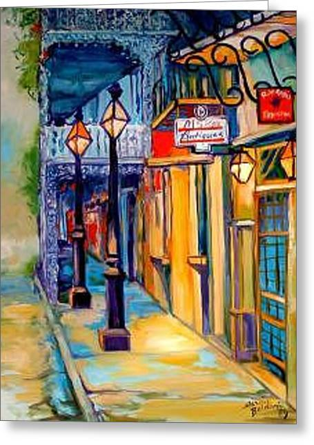 Morning In The French Quarter Greeting Card by Marcia Baldwin