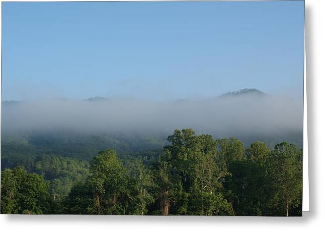 Morning In The Hills Of Tennessee Greeting Card by Terry Hoss