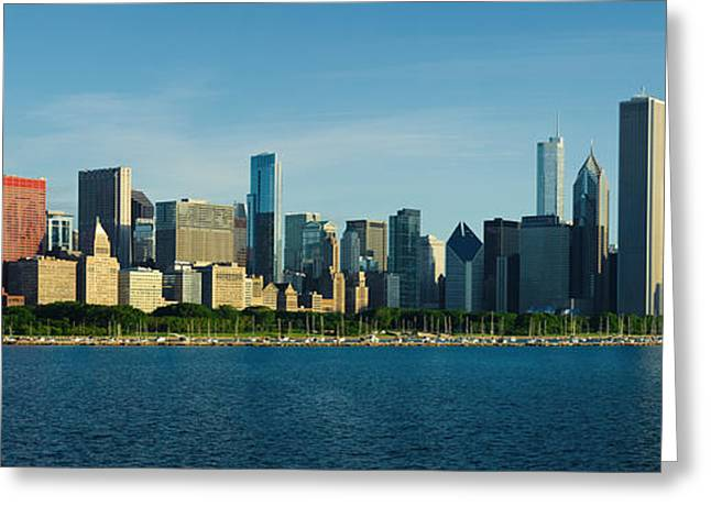 Morning Lakefront Greeting Card by Donald Schwartz
