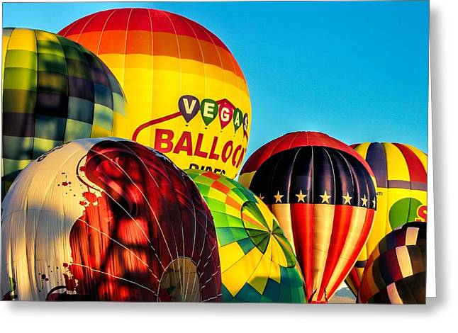 Morning Lift Off Greeting Card by Tammy Espino
