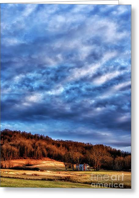 Morning Light And Clouds Greeting Card by Thomas R Fletcher