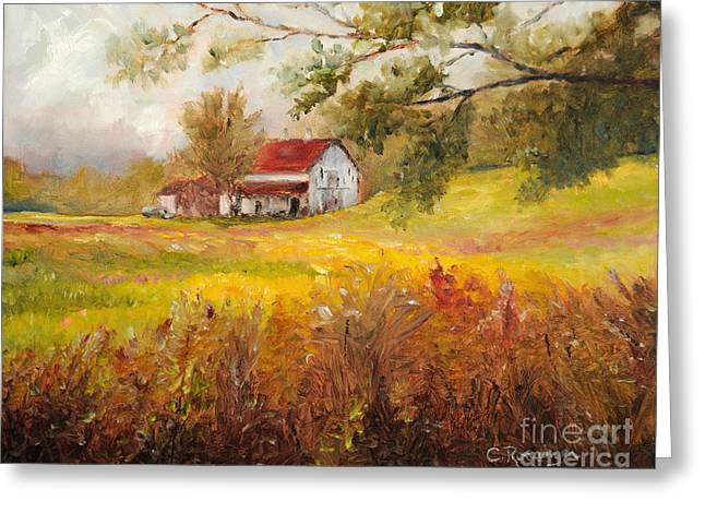 Morning Light Greeting Card by Cindy Roesinger